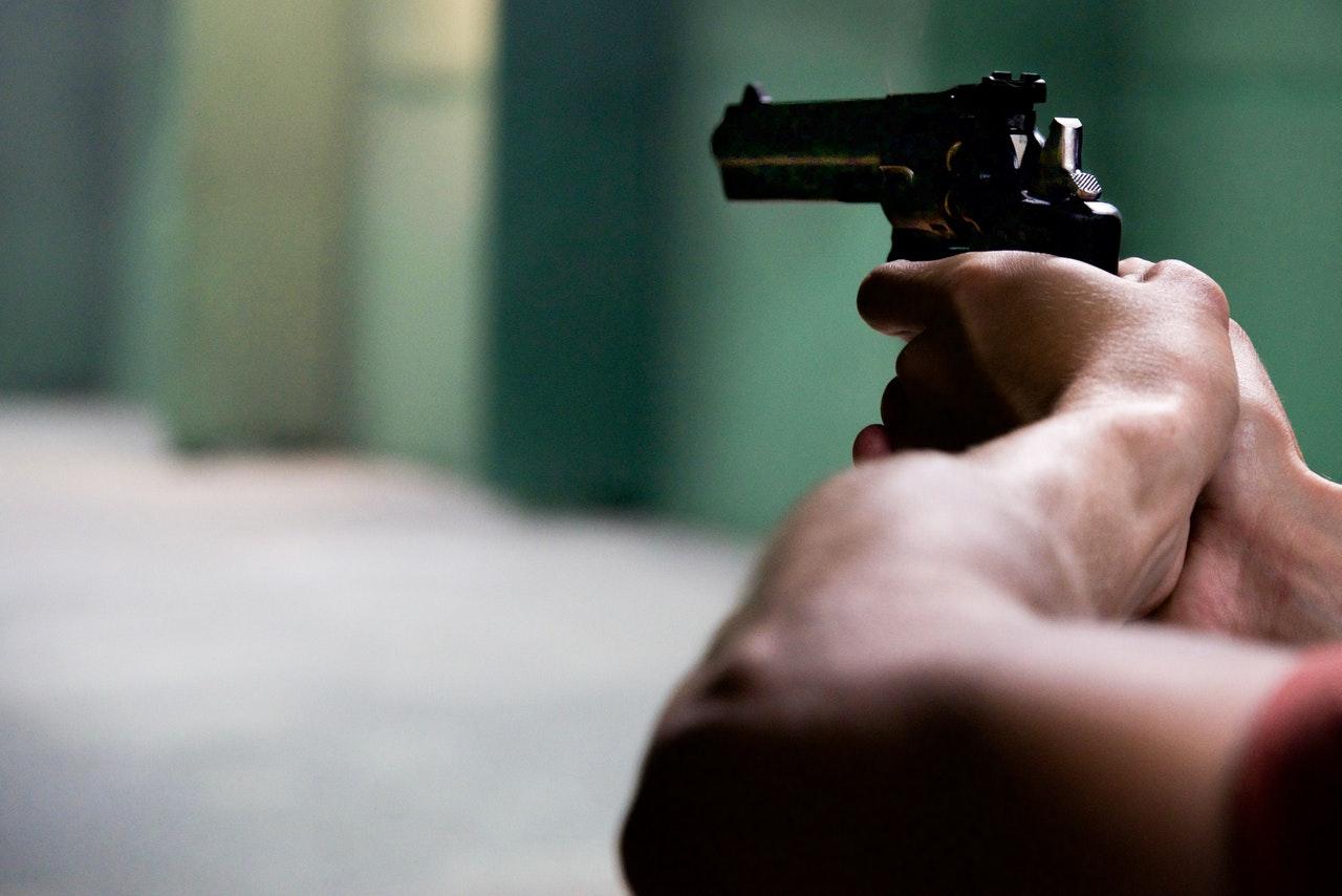 Pistol på skytebane